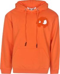 Alexander Mcqueen Orange 'chester' Hoodie