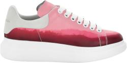Alexander Mcqueen Pink Red Dip Dyed Oversized Sneakers