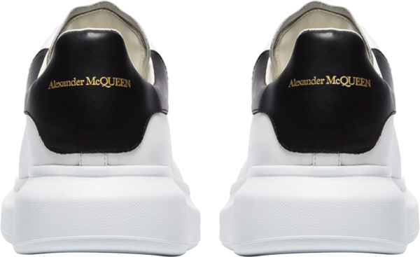 Alexander Mcqueen White Black Chunky Sneakers