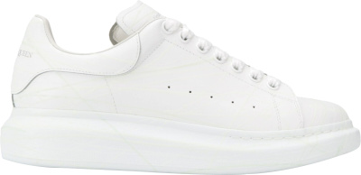 Alexander Mcqueen White Ovesized Sneakers