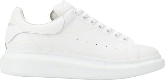 Alexander Mcqueen White Ovesized Sneakers