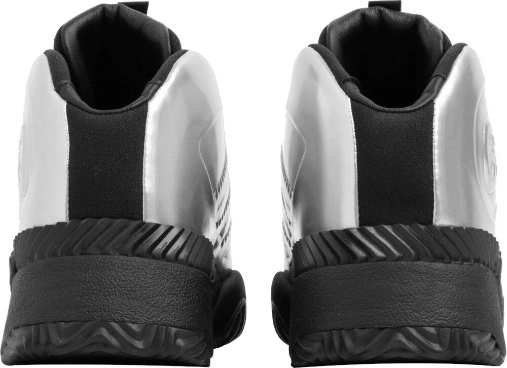 Alexander Wang X Adidas Silver Metallic Sneakers