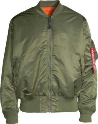 Alpha Industries Ma 1 Green Bomber Jacket