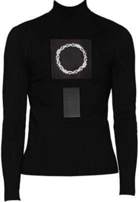 Alyx 1017 9sm Thorn Crown Patch Turtleneck