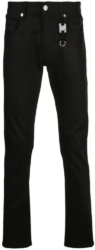 Alyx Black Slim Fit Jeans Worn By Offset