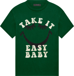 Amiri A Love Movement Green Take It Easy Baby T Shirt