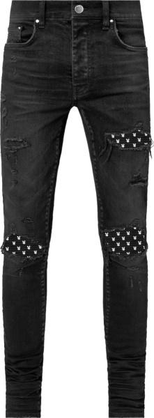 Amiri Antique Black Mx1 Jeans