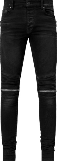 Amiri Antique Black Mx2 Biker Jeans