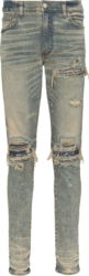 Navy Bandana Underpatch Tinted Jeans