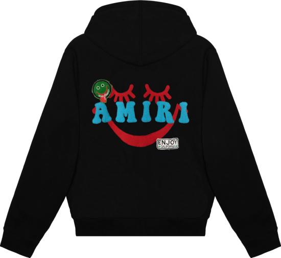 Amiri Black A Healthy Body Hoodie