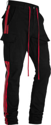 Amiri Black And Red Cargo Pants