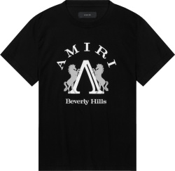 Amiri Black Beverly Hills T Shirt