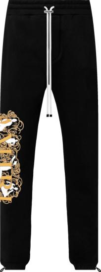 Amiri Black Female Figure Logo Sweatpants