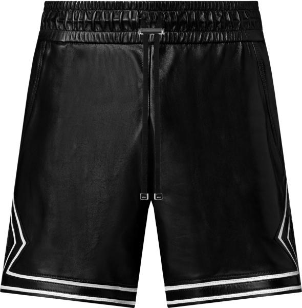 Amiri Black Leather Ma Boxing Shorts