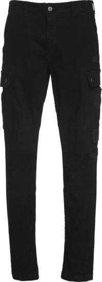 Amiri Black Slim Fit Cargo Pants