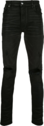 Amiri Black Thrasher Jeans