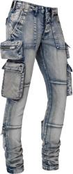 Amiri Clay Indigo Tactical Cargo Jeans