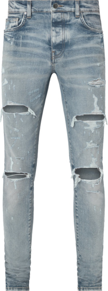 Amiri Clay Indigo Thrasher Plus Jeans