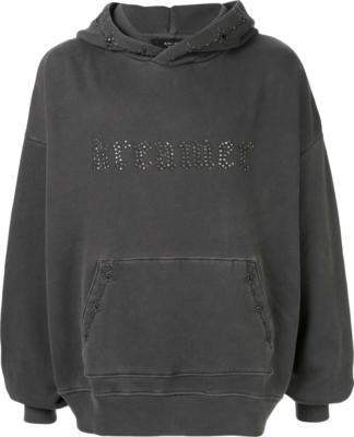 Amiri Dreamer Embellished Grey Hoodie