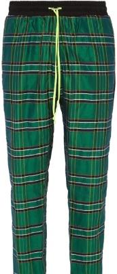 Amiri Green Plaid Pants
