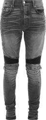 Amiri Grey Mx2 Biker Skinny Fit Jeans