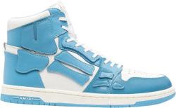 Amiri Light Blue High Top Skel Top Bone Sneakers