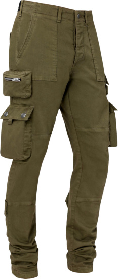 Amiri Military Green Tactical Cargo Pants