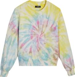 Amiri Multicolor Tie Dye Sweatshirt