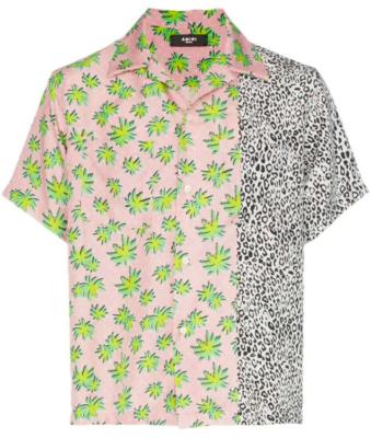 Amiri Palm Tree And Leopard Print Shirt