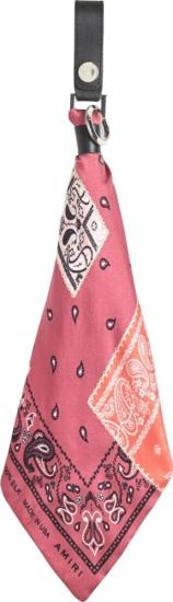 Amiri Pink Pandand Keyring