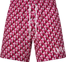 Amiri Pink Repeat A Swim Shorts