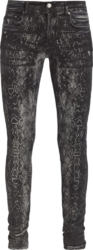 Amiri Python Print Jeans