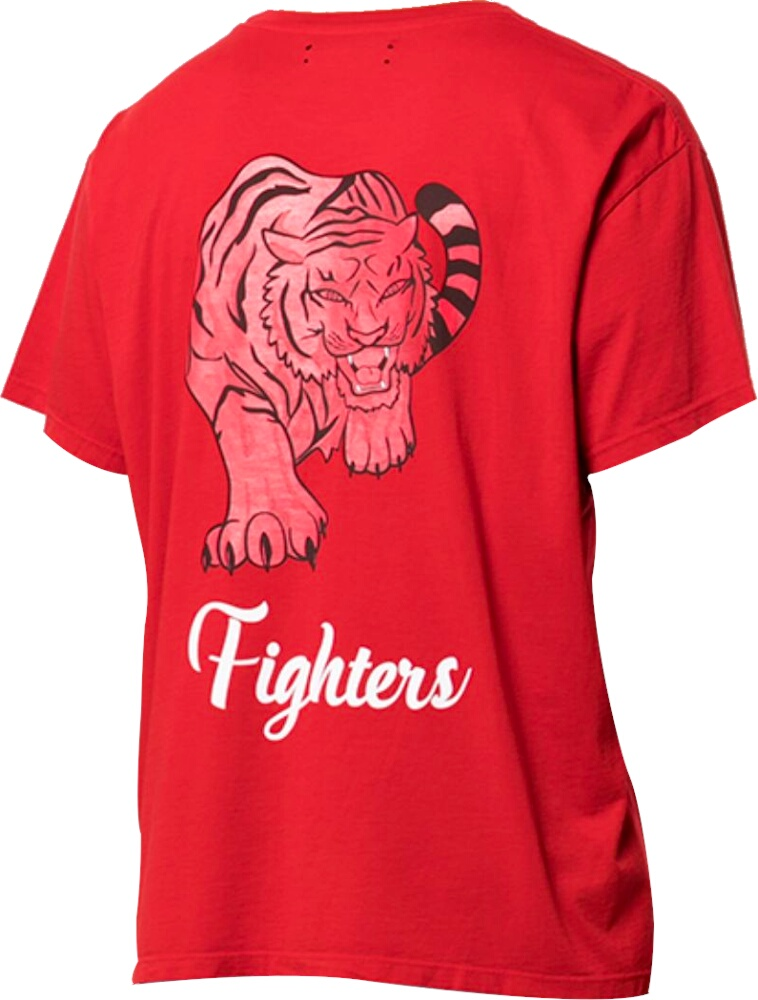 Amiri Red Fighters T Shirt