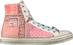 Amiri Salmon Bandana Patchwork Sneakers
