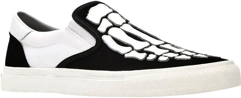 Amiri Skeleton Foot Patch Sneakers