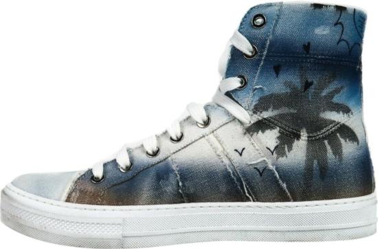 Amiri Sunset Print Sneakers