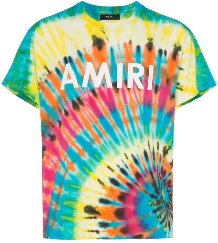 Amiri Tie Die Logo Printed Shirt