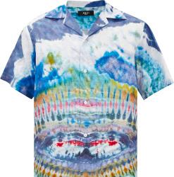 Amiri Tie Dye Silk Shirt