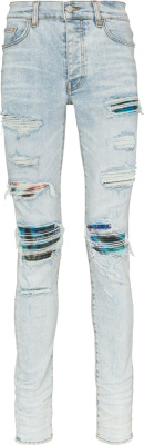 Amiri Watercolor Underpatch Light Mx1 Jeans
