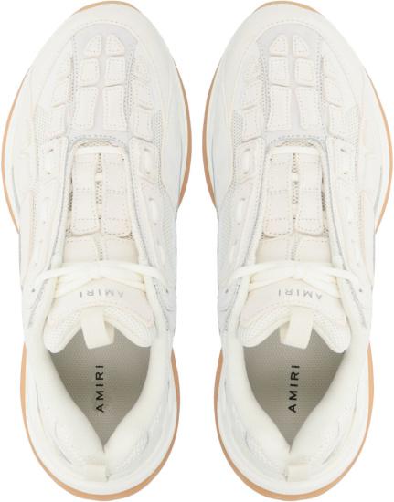 Amiri White Bone Sneakers