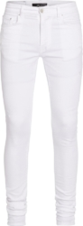 Amiri White Stacked Jeans