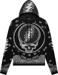 Amiri X Grateful Dead Black Skull Jacquard Hoodie