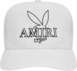 Amiri X Playboy White Bunny Trucker Hat
