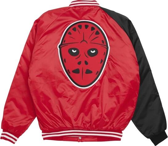 Anc Jason Mask Red Bomber Jacket