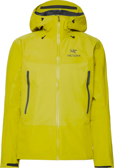 Arcteryx Yellow Beta Sl Hybrid Jacket