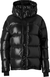 Aritzia Black The Super Puffer Puffer Jacket