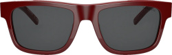 Arnette Red Sunglasses Worn By Post Malone