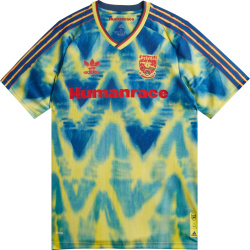 Arsenal Blue Yellow Tie Dye Human Race Jersey