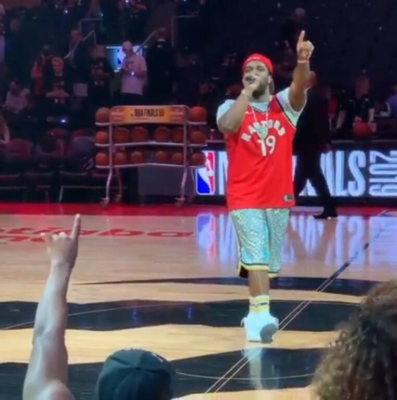 Asap Ferg Performing At Game 1 Of The Nba Finals