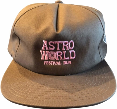 Astroworld Festival Run Brown Hat